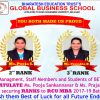 Resolute Academic Achivement - Ranks to RCU MBA Course